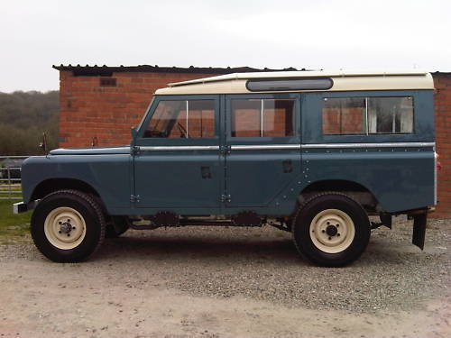 land rover series 2a 109 station wagon 2.6 5
