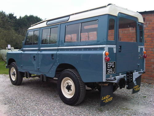 land rover series 2a 109 station wagon 2.6 6