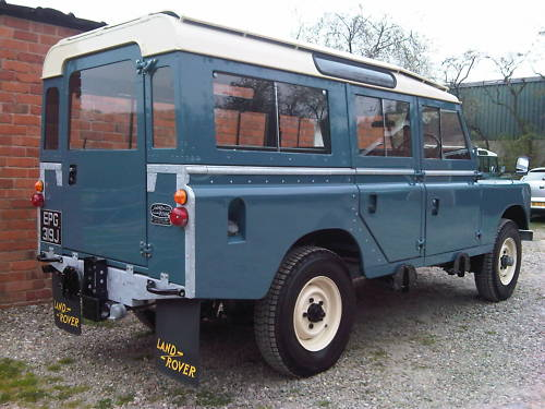 land rover series 2a 109 station wagon 2.6 8
