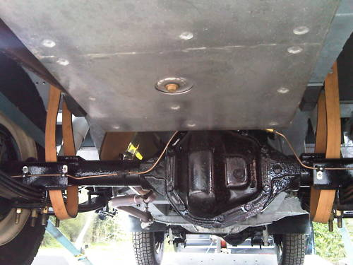 land rover series 2a 109 station wagon 2.6 underside