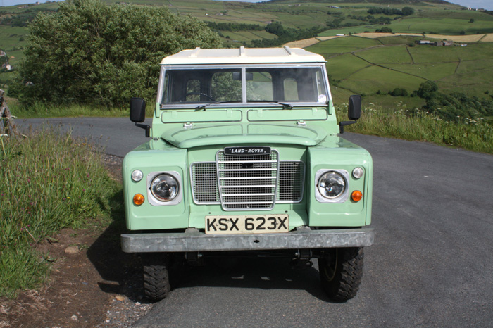 1981 Landrover Series 3 SWB Front
