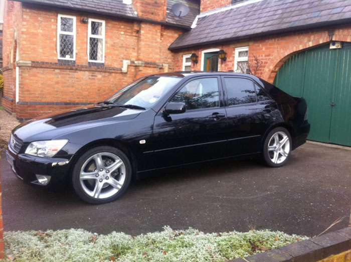 2000 lexus is200 sport black 3