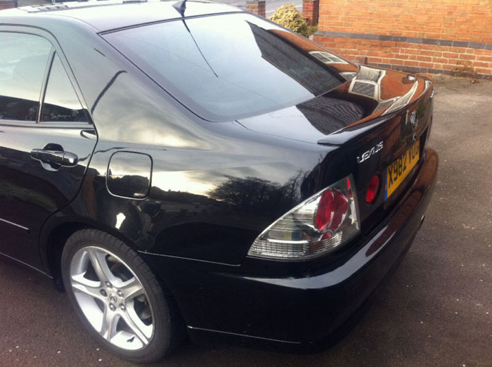 2000 lexus is200 sport black 4