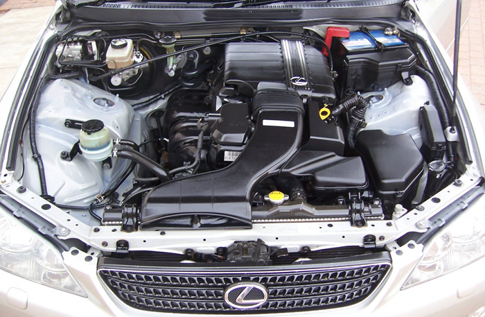 2002 Lexus IS200 SE Engine Bay