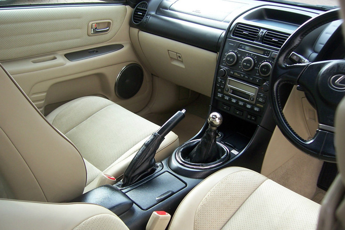 2002 Lexus IS200 SE Front Interior