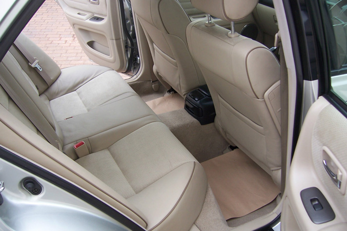 2002 Lexus IS200 SE Rear Interior