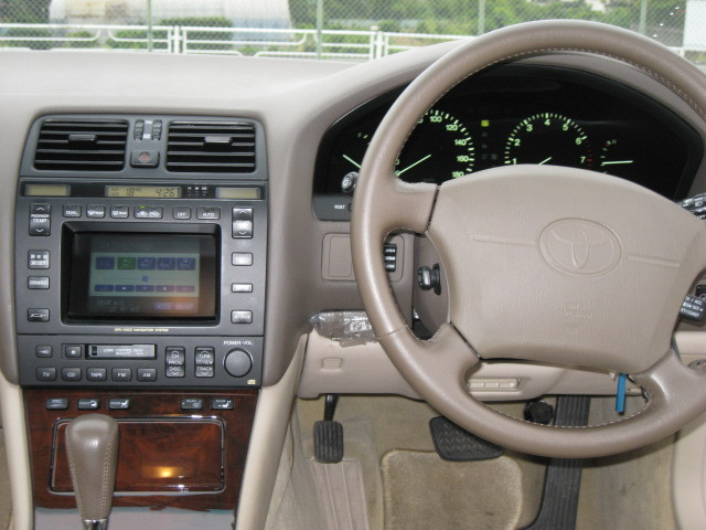1995 Toyota Celsior Lexus LS400 Dashboard Steering Wheel