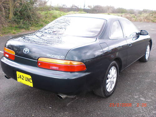 1991 lexus soarer 2.5 twin turbo 4