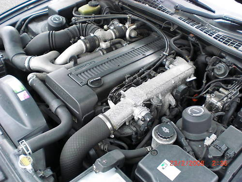 1991 lexus soarer 2.5 twin turbo engine bay