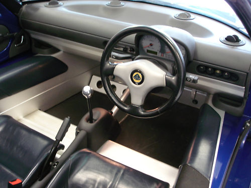 1999 lotus elise s1 convertible interior 1