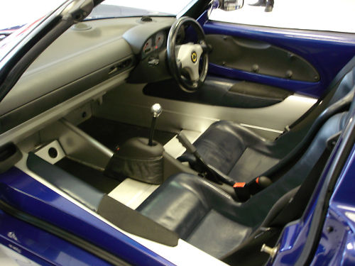 1999 lotus elise s1 convertible interior 2