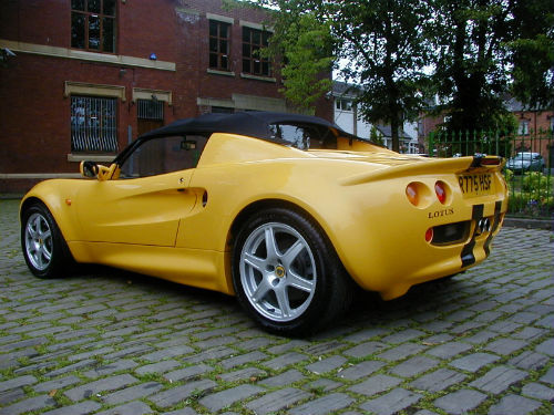 yellow lotus elise cars - photo #33