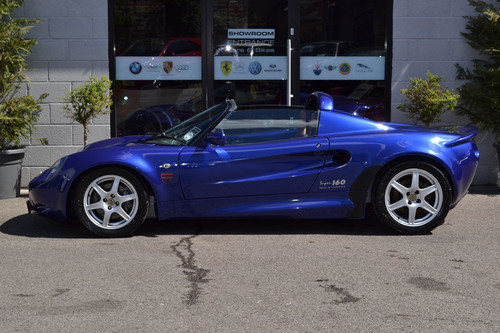 1999 Lotus Elise S1 Left Side