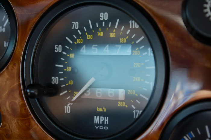1990 lotus esprit turbo se speedometer