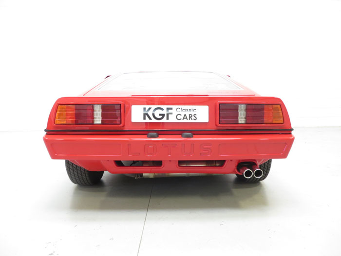 1986 Lotus Esprit Series 3 Back