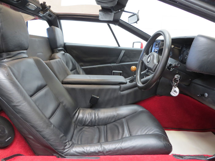 1986 Lotus Esprit Series 3 Front Interior 1