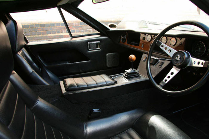 1972 lotus europa twin cam interior