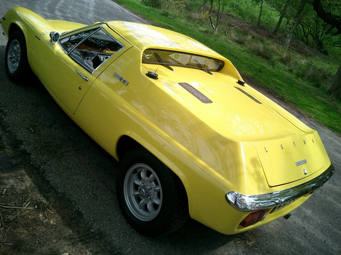 1971 Lotus Europa Twin Cam Back