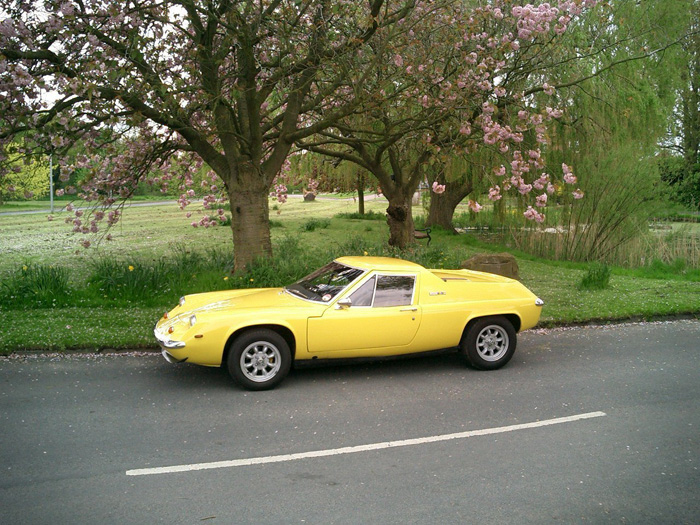 1971 Lotus Europa Twin Cam Side