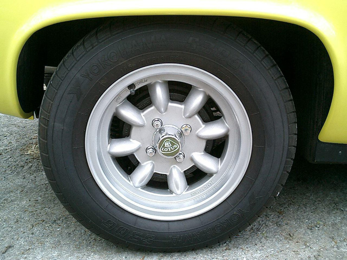 1971 Lotus Europa Twin Cam Wheel