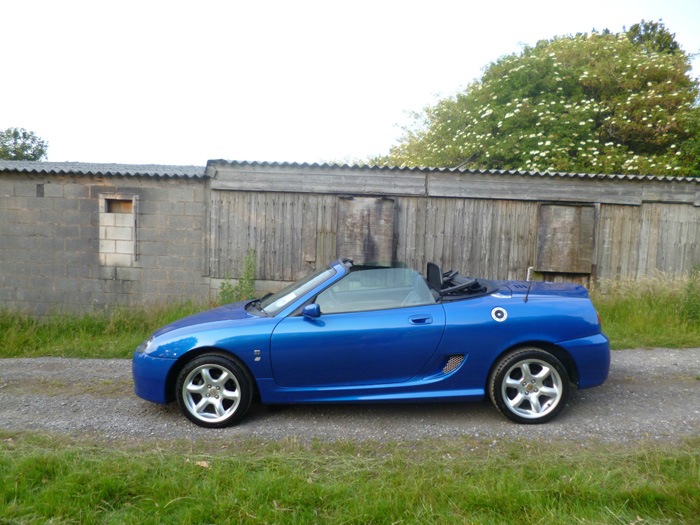 2003 MG TF 1.8 Convertible Left Side