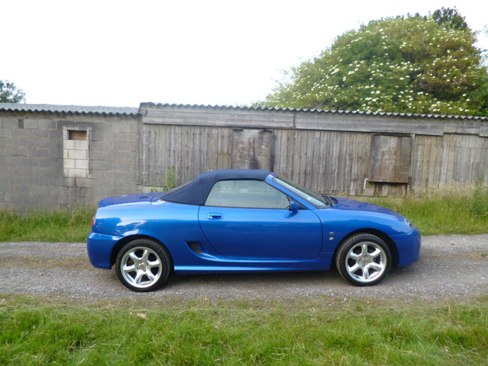 2003 MG TF 1.8 Convertible Right Side