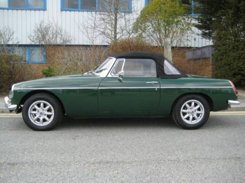 mgb 1800cc roadster new heritage shell 3