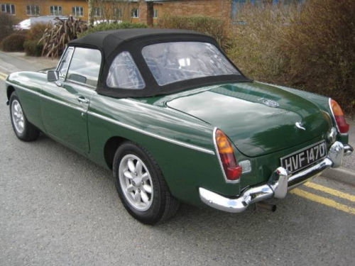 mgb 1800cc roadster new heritage shell 5