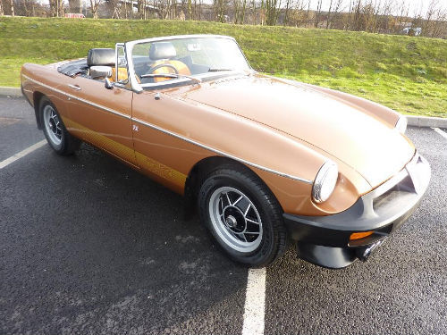 1981 mgb le roadster 1