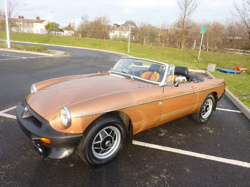 1981 mgb le roadster 2