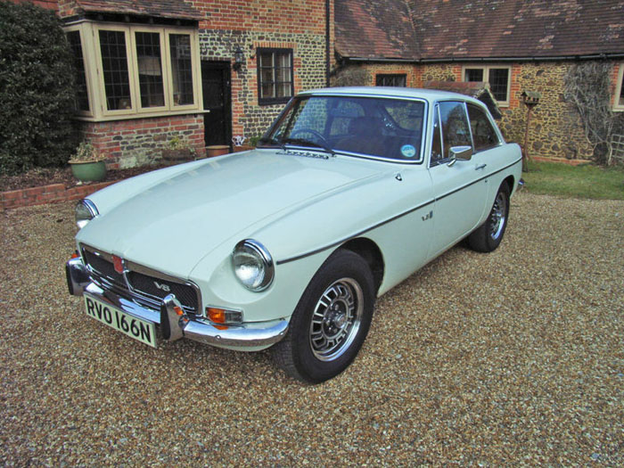 1974 mgb gt v8 factory car 1
