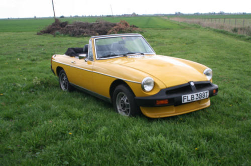 1979 mg b roadster 22 v8 by lenham 1