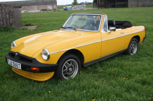 1979 mg b roadster 22 v8 by lenham 3
