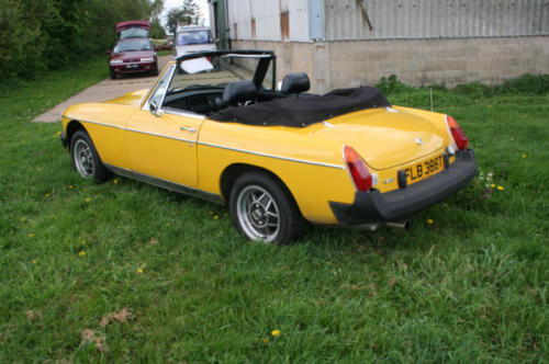 1979 mg b roadster 22 v8 by lenham 4