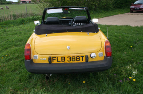 1979 mg b roadster 22 v8 by lenham 5
