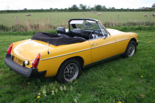 1979 mg b roadster 22 v8 by lenham 6
