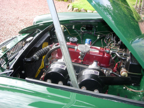 1969 MGB GT Engine Bay