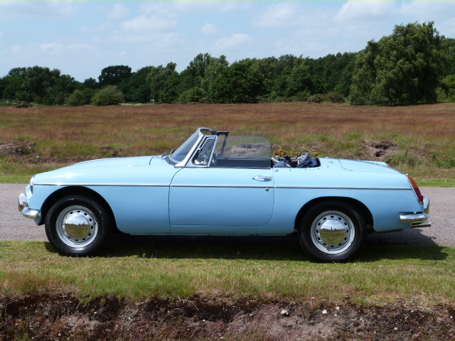 1963 MGB Roadster Left Side
