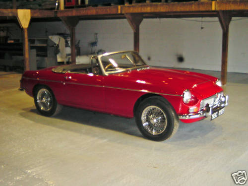 1968 mgc roadster concours rebuild 2