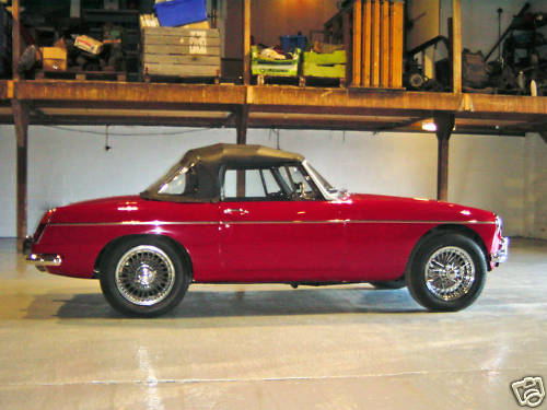 1968 mgc roadster concours rebuild 3