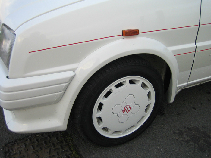 1987 MG Metro Turbo Front Wheel Arch