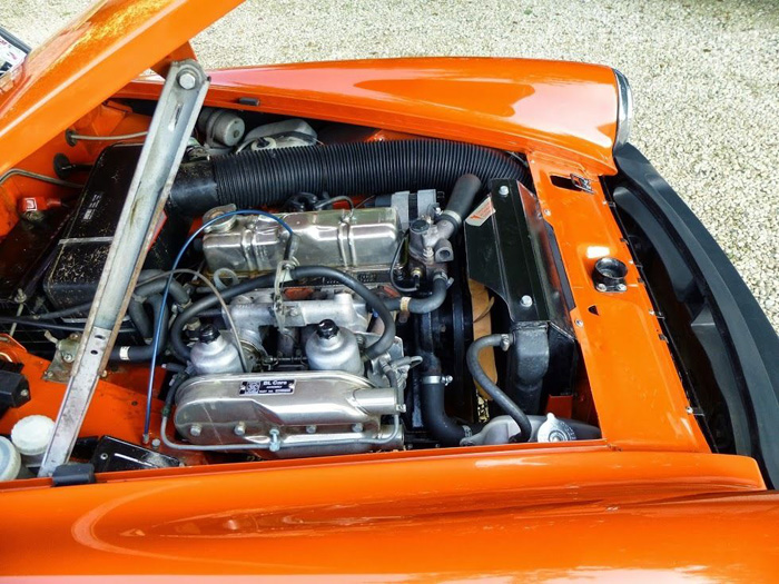 1981 MG Midget 1500 Engine Bay 2