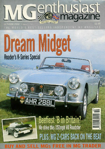 1972 mg midget in silver feature