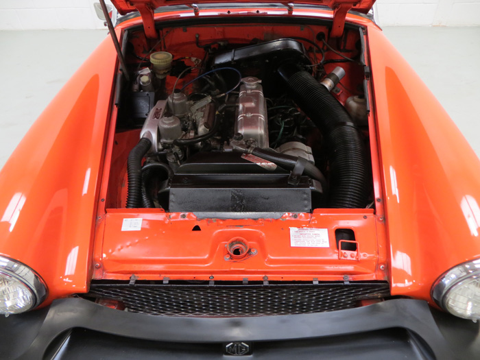 1978 MG Midget 1500 Engine Bay 1
