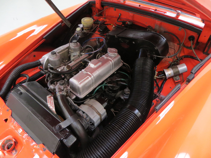 1978 MG Midget 1500 Engine Bay 2