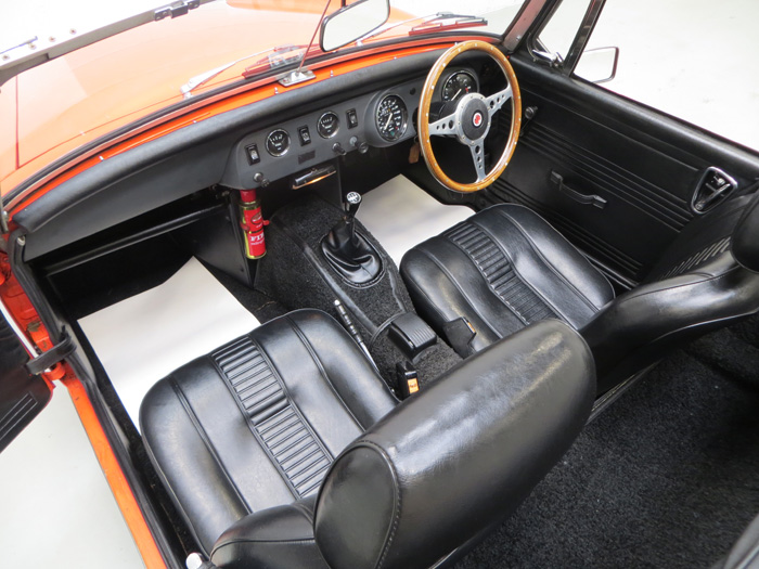1978 MG Midget 1500 Interior 1