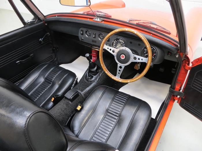 1978 MG Midget 1500 Interior 2