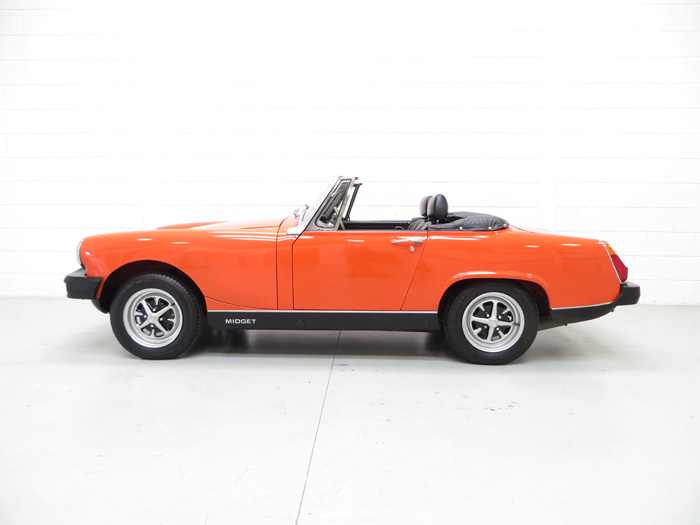 1978 MG Midget 1500 Left Side