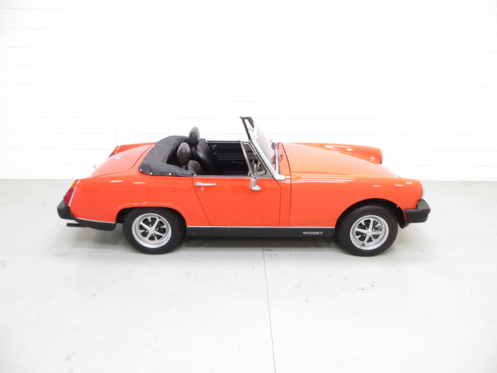 1978 MG Midget 1500 Right Side