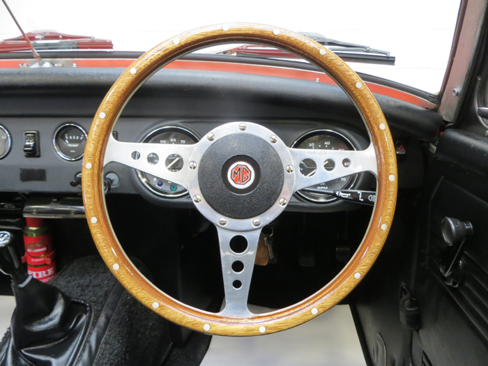 1978 MG Midget 1500 Steering Wheel